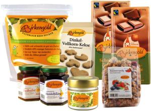 Produkte mit Xylit aus Finnland und Österreich