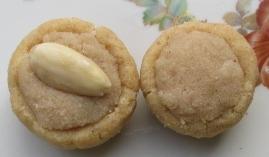 zuckerfreie Mandelplätzchen