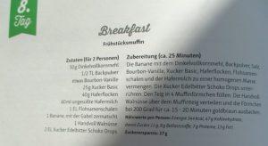 30 Tage Xucker Challenge Frühstücksmuffins